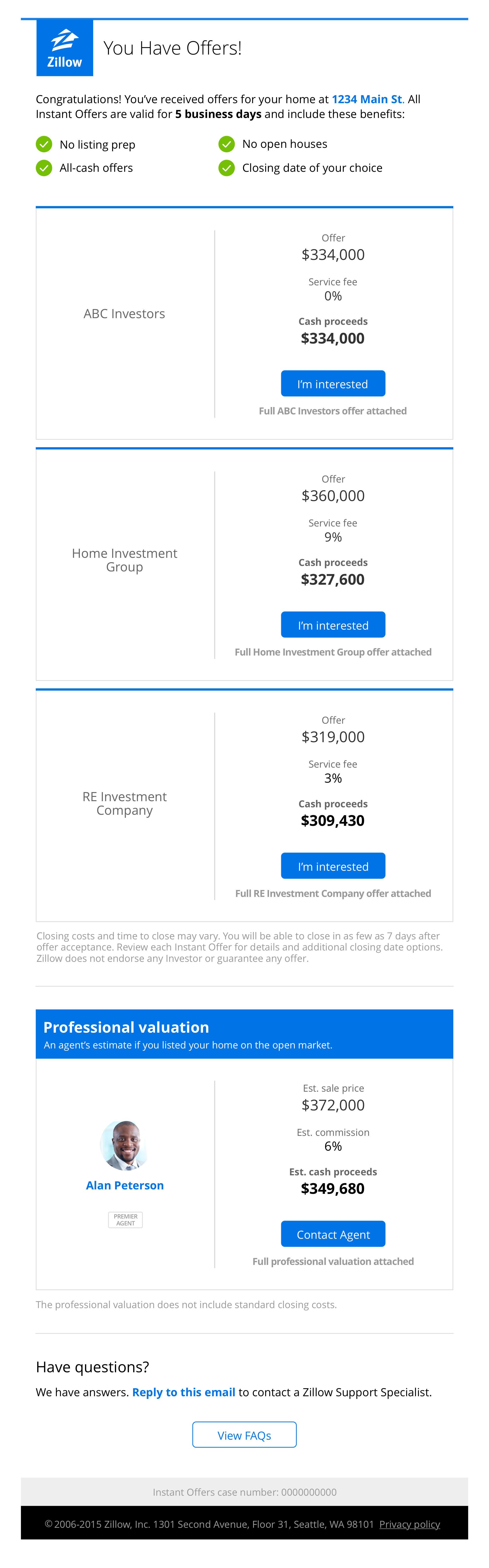 """Gamechanger: Zillow getting into home selling business with """"instant offers"""""""