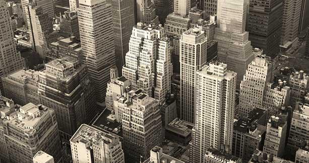 New York City Manhattan Sky
