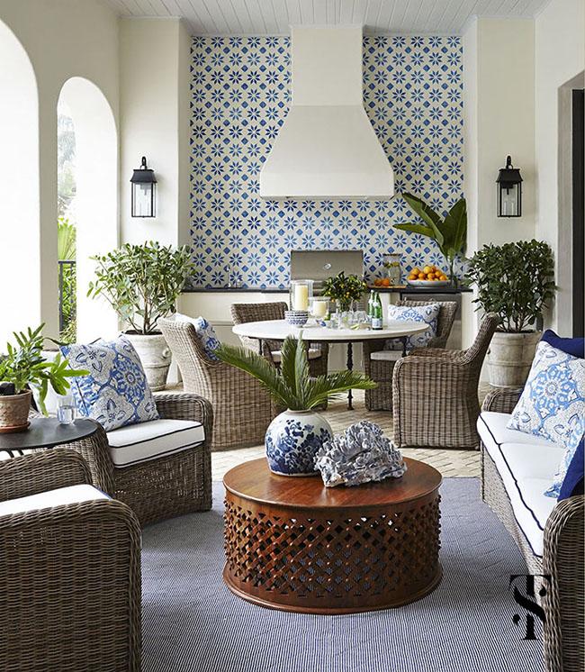 Mediterranean Home Design Interior: Designer Lookbook: Summer Thornton's Mediterranean Home