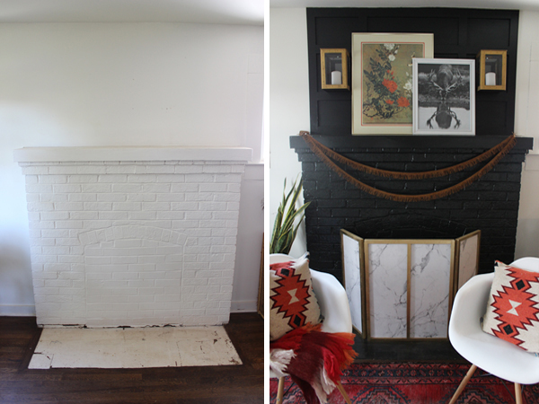 Fireplace Makeover: Get a New Look in a Weekend
