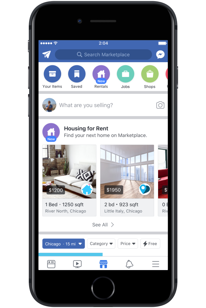 Facebook launches massive push into real estate listings